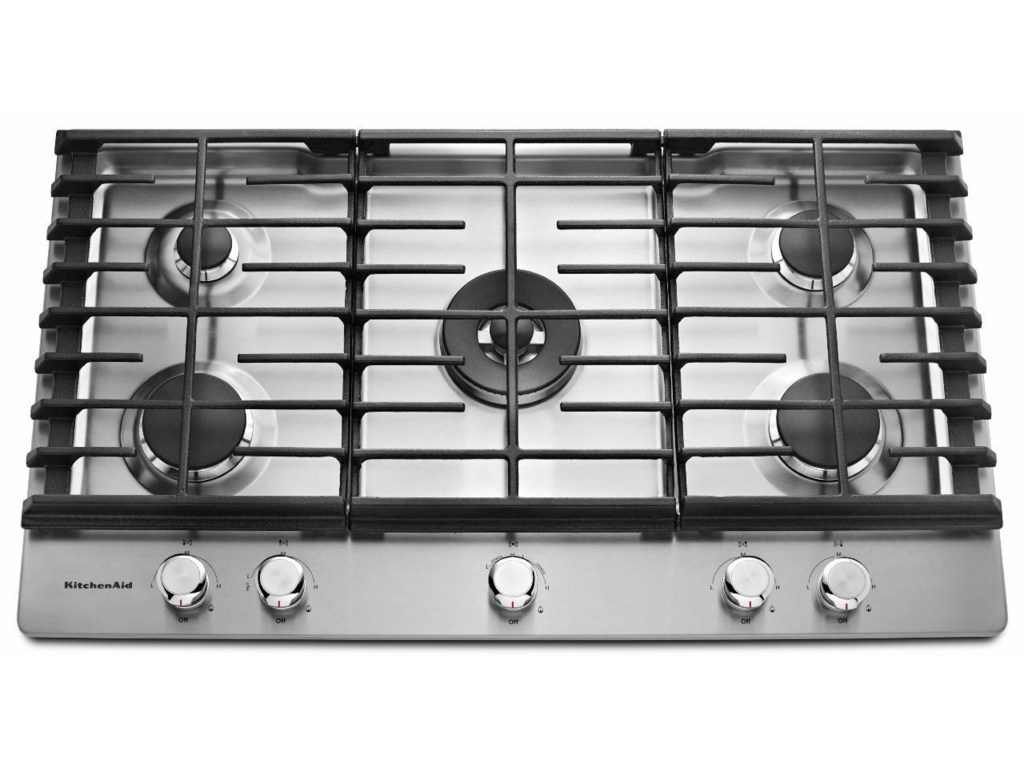 Kitchenaid Gas Cooktops36 5 Burner Cooktop