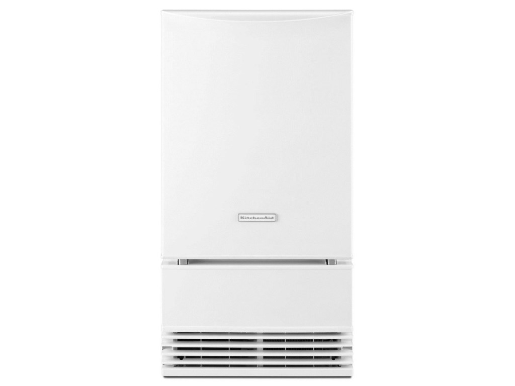 KitchenAid KUIS18PNZW18\'\' Automatic Ice Maker with Factory-Installed ...