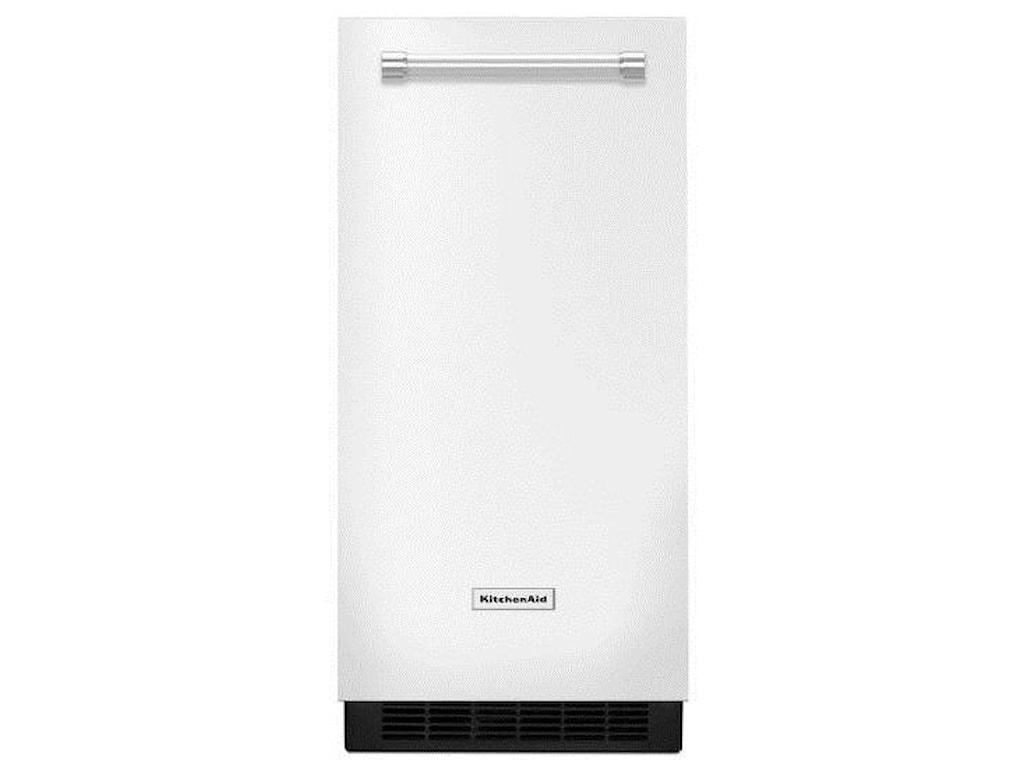 KitchenAid KUIX305EWH15\'\' Automatic Ice Maker with Clear Ice ...
