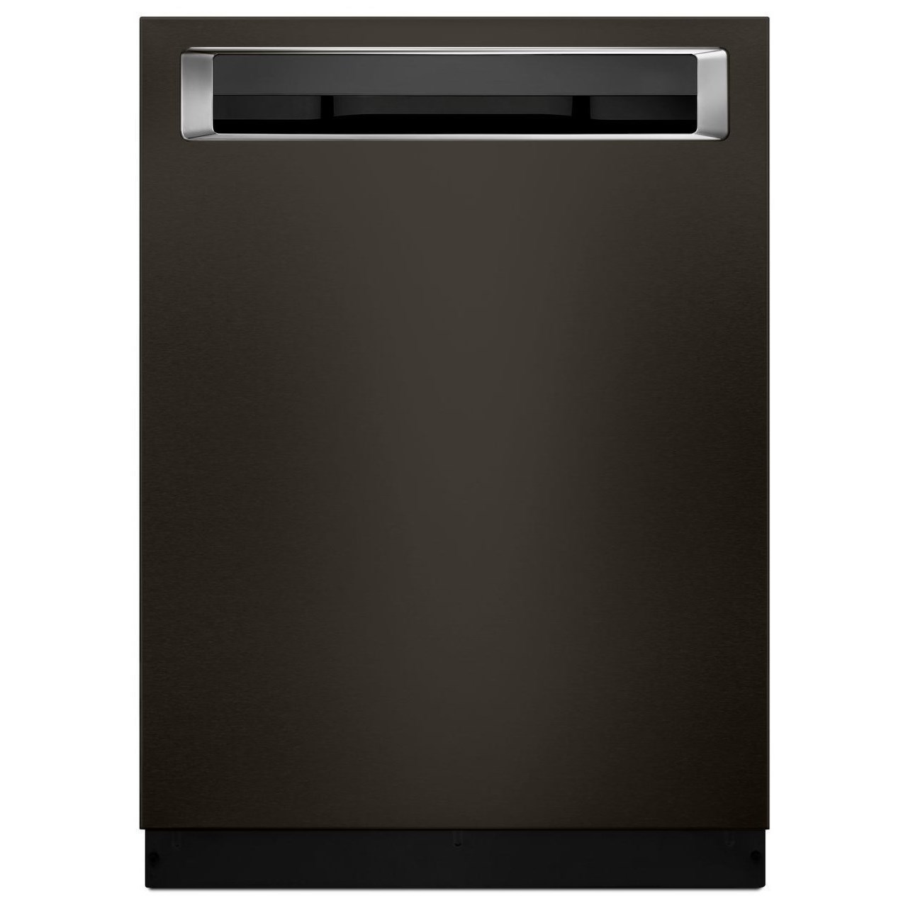 KitchenAid KDPE334GBS 39 dB Black Stainless Built-In Dishwasher with Third Rack