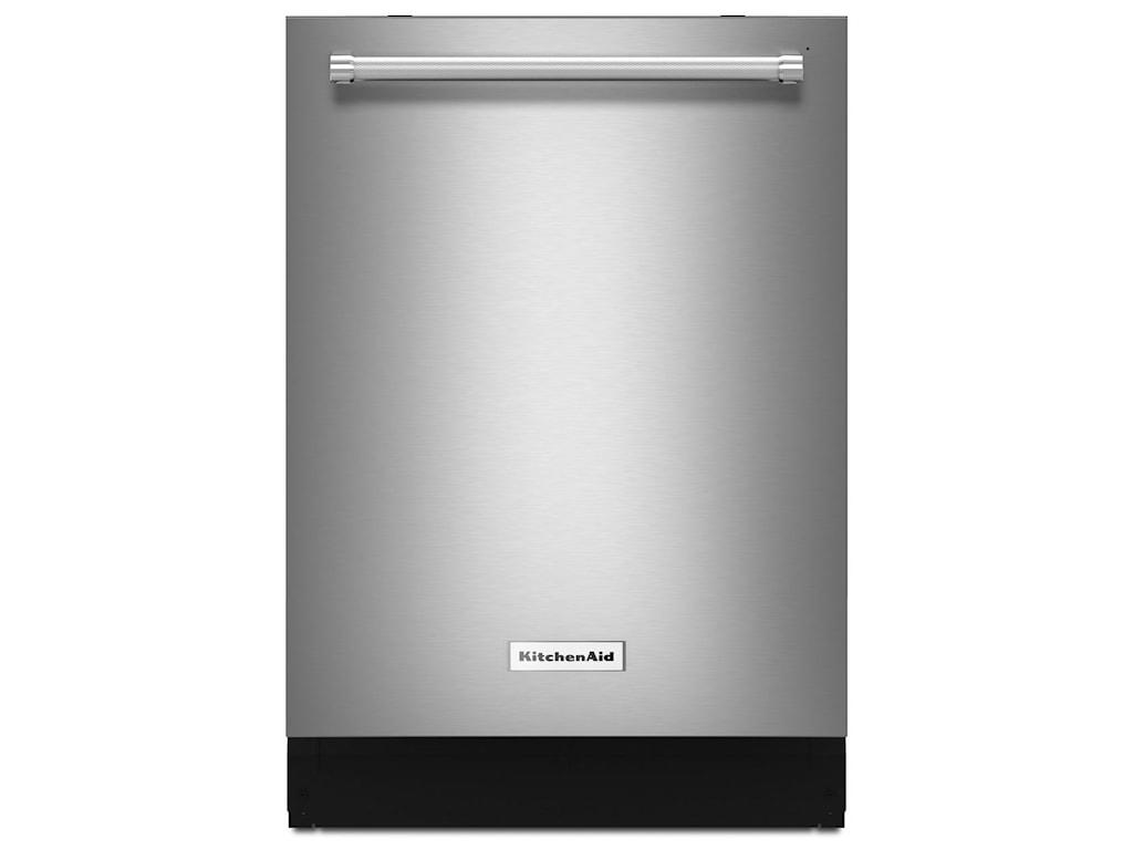 KitchenAid Dishwashers 39 DBA Dishwasher with Fan-Enabled ProDry System and  PrintShield Finish by KitchenAid at Furniture and ApplianceMart