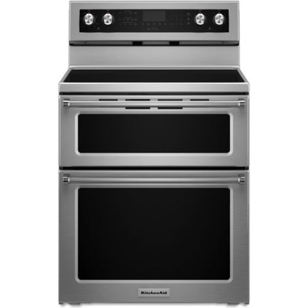 30-Inch 5 Burner Electric Double Oven Convec