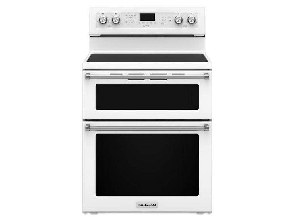 Kitchenaid Electric Ranges30 Inch 5 Burner Double Oven Convec