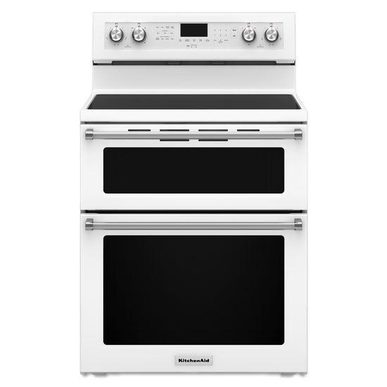 KitchenAid KitchenAid Electric Ranges30 Inch 5 Burner Electric Double Oven  Convec