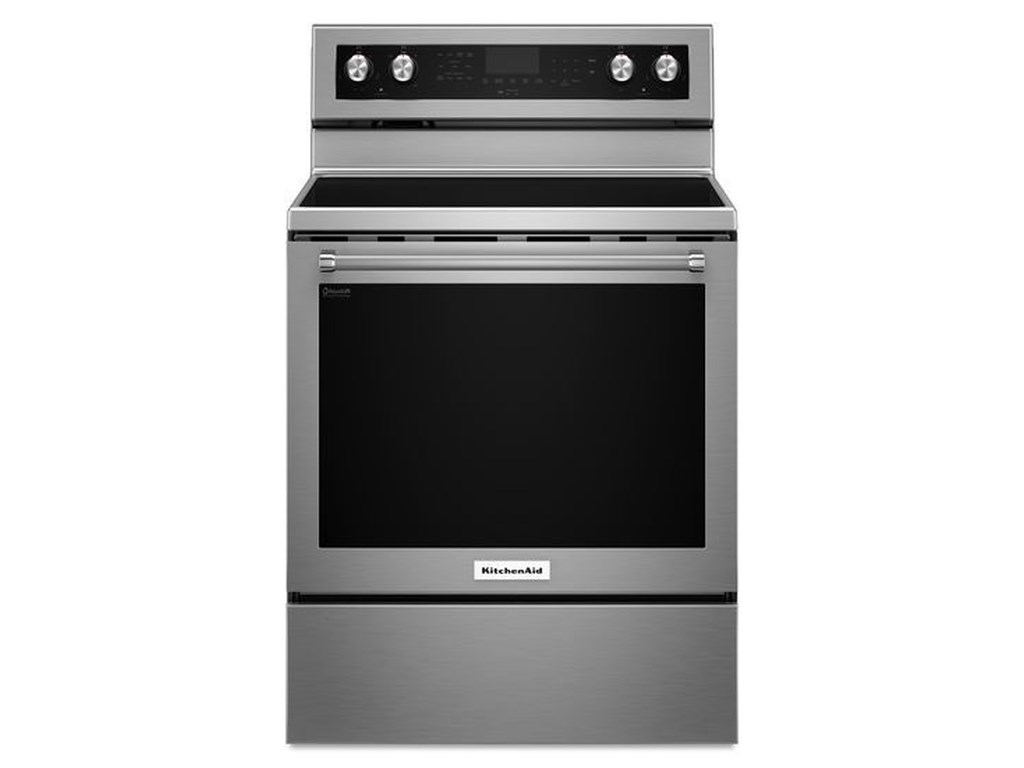 30 Inch 5 Element Electric Convection Range By Kitchenaid