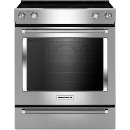 30-Inch Electric Slide-In Convection Range