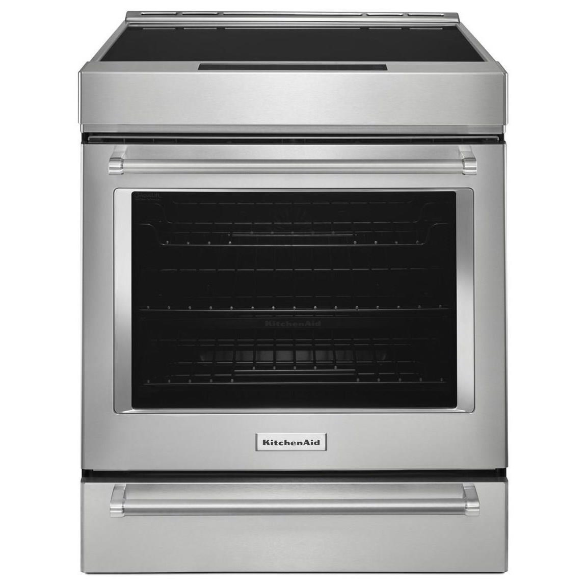 KitchenAid KitchenAid Electric Ranges30 Inch 4 Element Induction Convection  Range ...