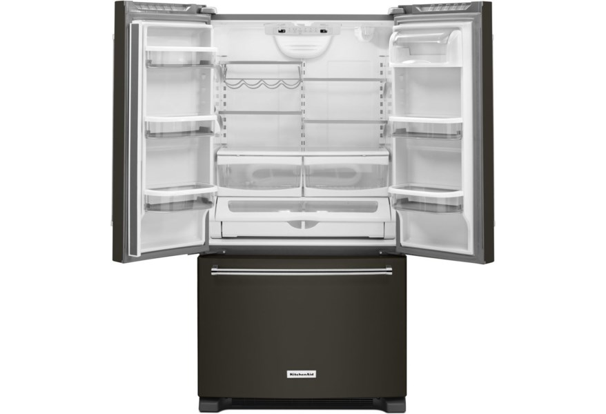 KitchenAid French Door Refrigerators 20 cu. ft. 36-Inch French Door  Refrigerator