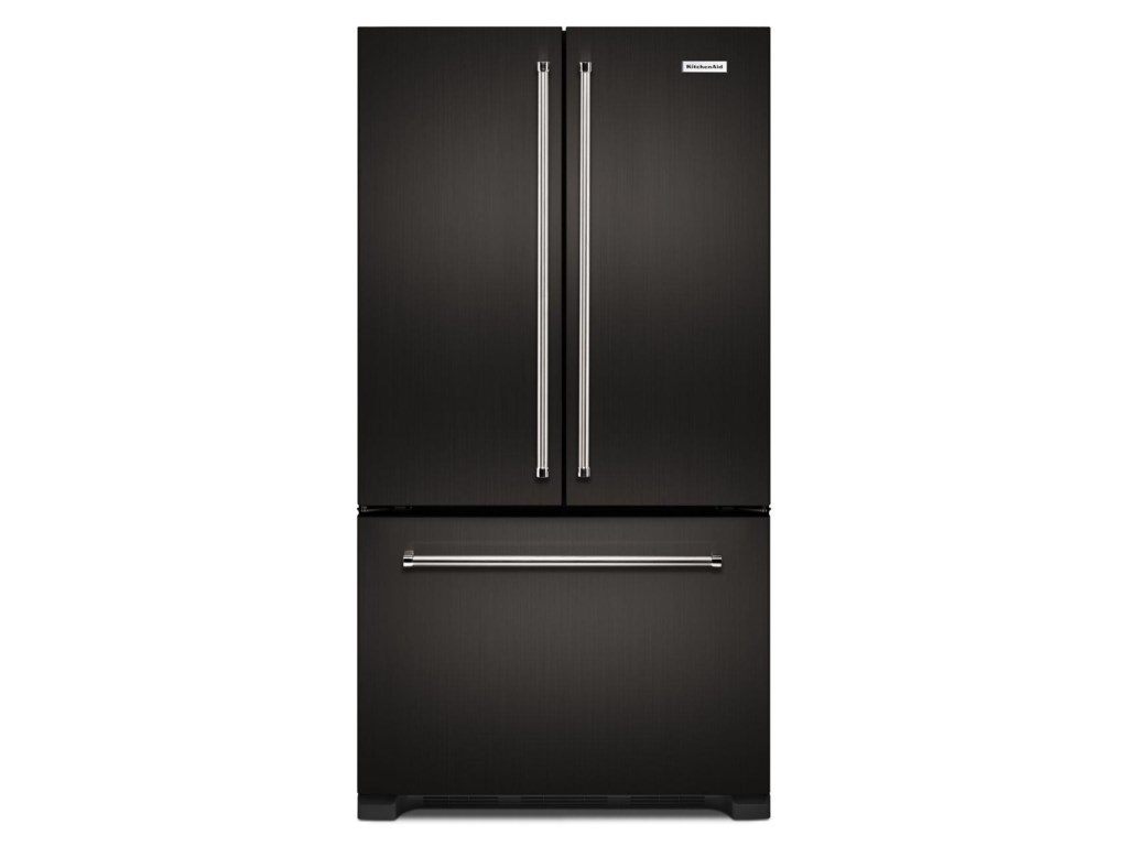 KitchenAid French Door Refrigerators 22 Cu  Ft  Counter Depth French Door  Refrigerator with Internal Water Dispenser by KitchenAid at Furniture and