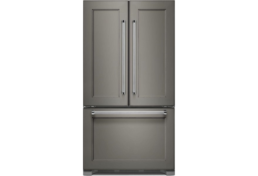 KitchenAid 22 Cu. Ft. Counter Depth French Door Refrigerator ...