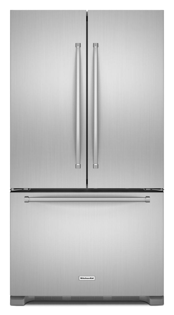 kitchenaid krfc302ess22 cu ft counter depth french door rh furnitureappliancemart com