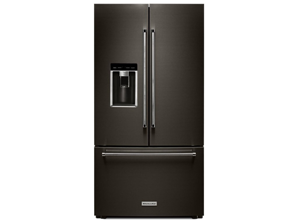 Kitchenaid 238 Cuft 36 Counter Depth French Door Platinum