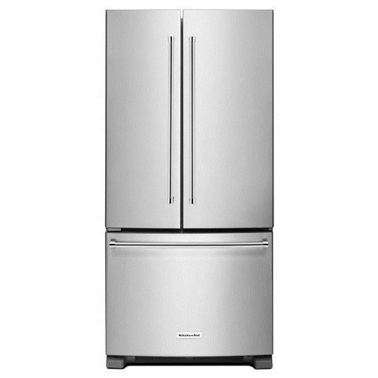 KitchenAid KitchenAid French Door Refrigerators 22 Cu. Ft. 33 Inch Width  Standard Depth