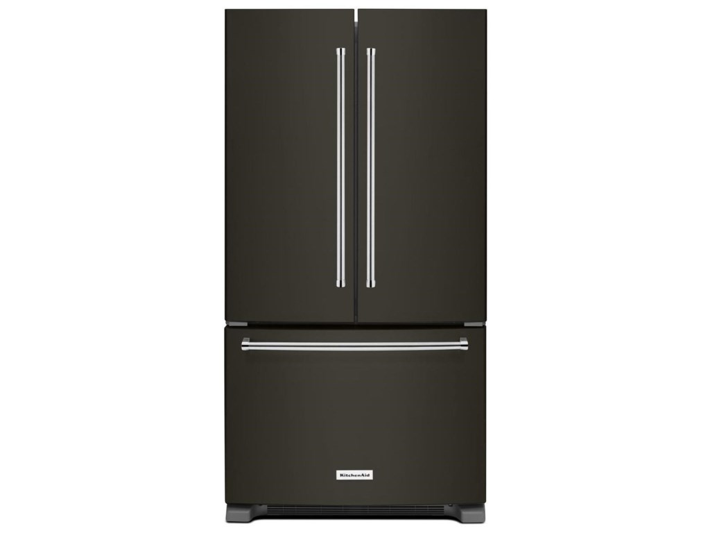 Kitchenaid 25 Cu Ft 36 Width Standard Depth French Door