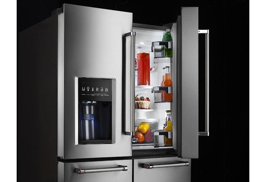 KitchenAid French Door Refrigerators 25.8 Cu. Ft. 36\
