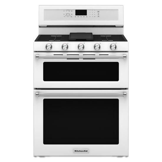 KitchenAid KitchenAid Gas Ranges30 Inch 5 Burner Gas Double Oven Convection