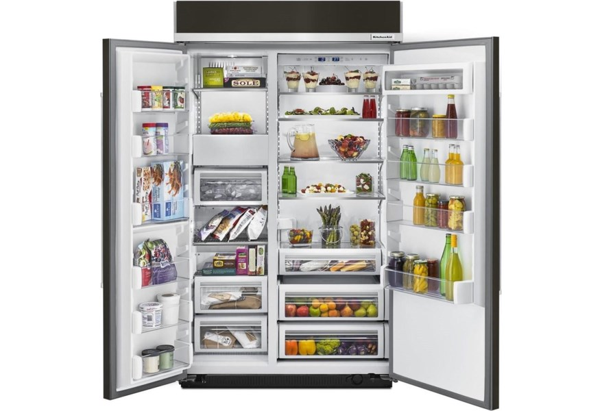 KitchenAid Side-by-Side Refrigerator 30.0 cu. ft 48\