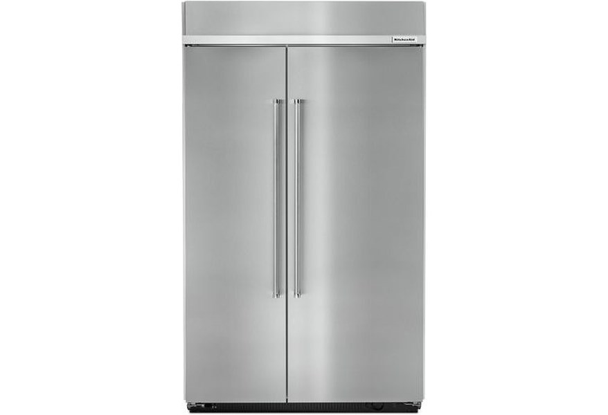 KitchenAid 30.0 cu. ft 48-Inch Width Built-In Side by Side ...
