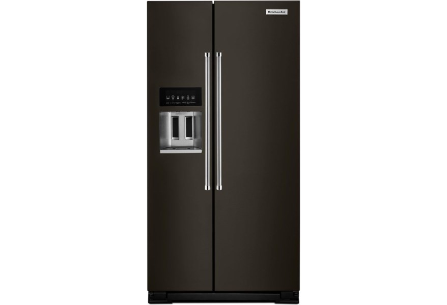 KitchenAid Side-by-Side Refrigerator 22.7 Cu.Ft. Counter Depth Side-X-Side  Fridge
