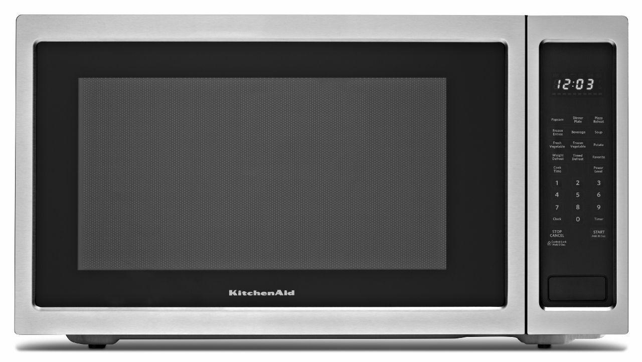 KitchenAid 2.2 Cu. Ft. Countertop Microwave Oven with 1200 ...