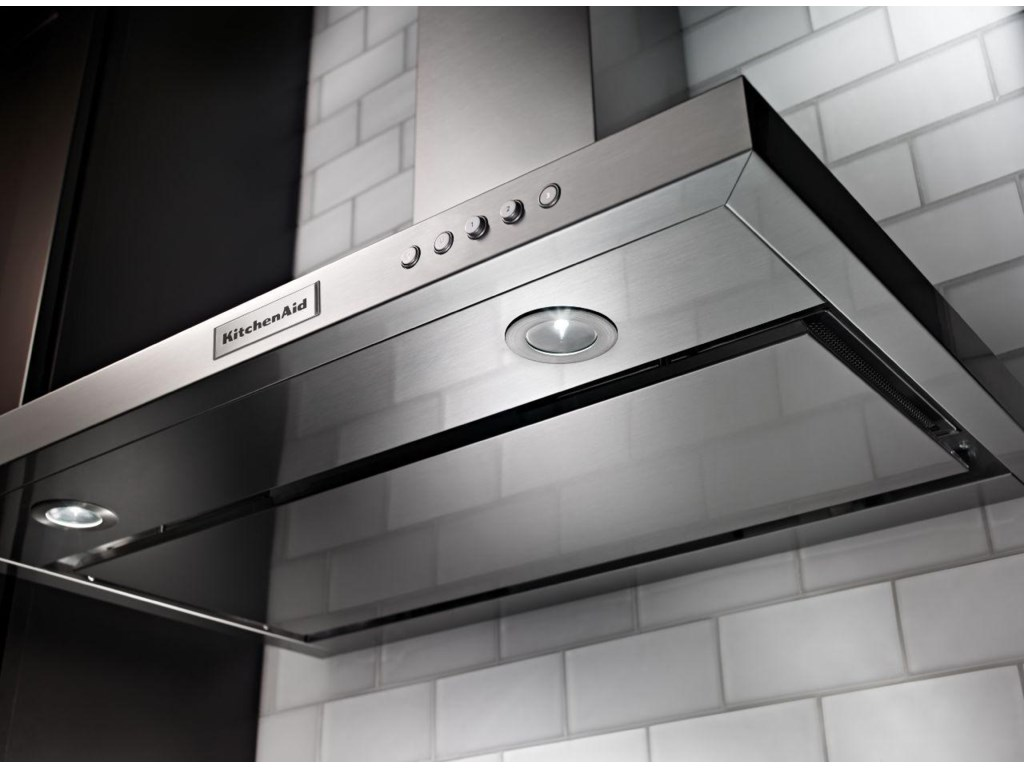 KitchenAid Vents and Hoods - 201430'' Wall-Mount, 3-Speed Canopy Hood