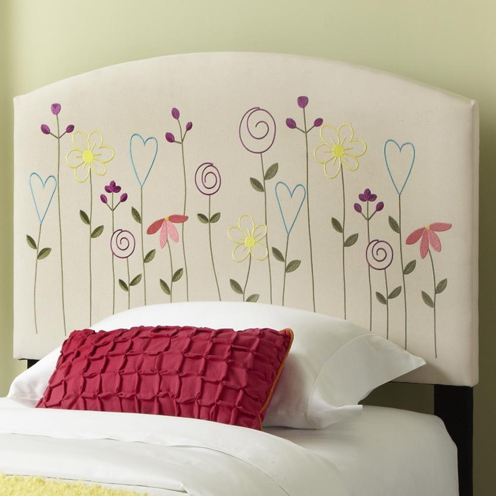 Kourtney Twin Flower Headboard Miskelly Furniture Headboards