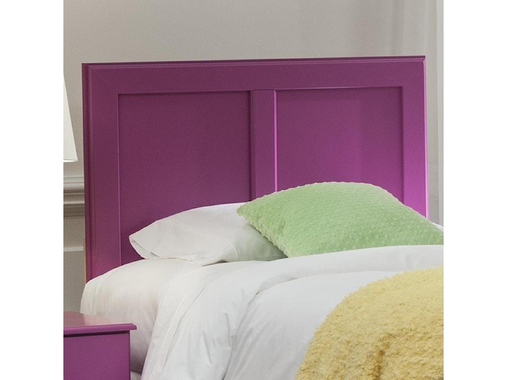Kith Furniture 171 RaspberryTwin Panel Headboard