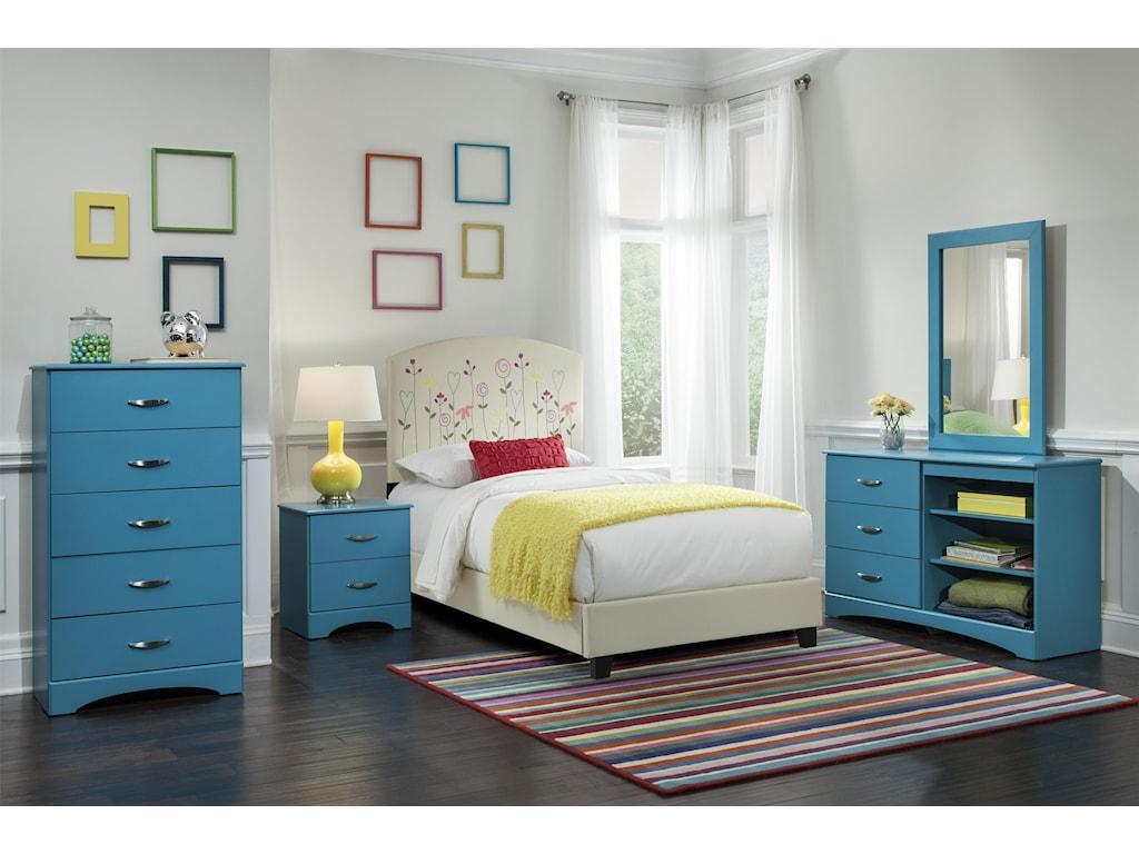 Kith Furniture 173 TurquoiseMirror