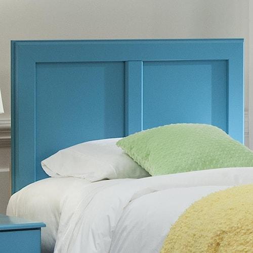 Kith Furniture 173 Turquoise Twin Panel Headboard