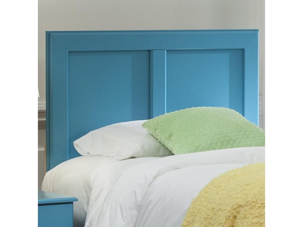 Kith Furniture 173 TurquoiseFull/Queen Panel Headboard