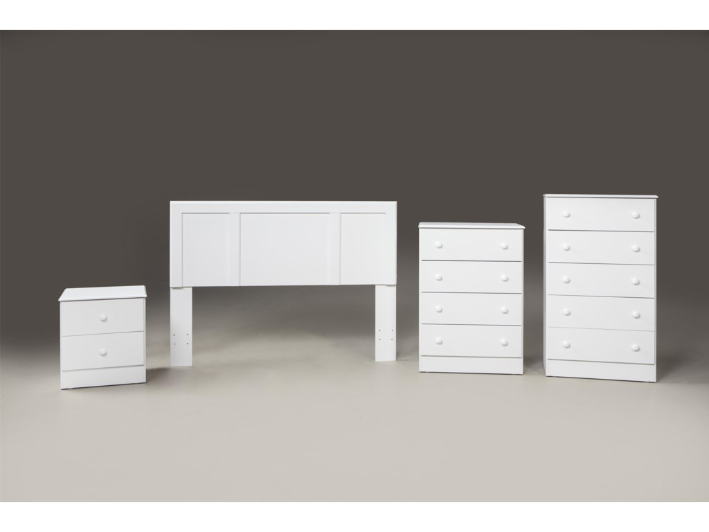 Kith Furniture 193 WhiteNightstand