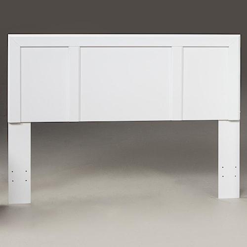 Kith Furniture 193 White Twin Headboard