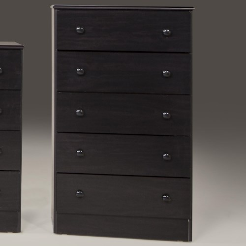 Kith Furniture 197 Merlot 5 Drawer Chest