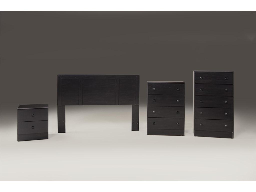 Kith Furniture 197 MerlotTwin Headboard