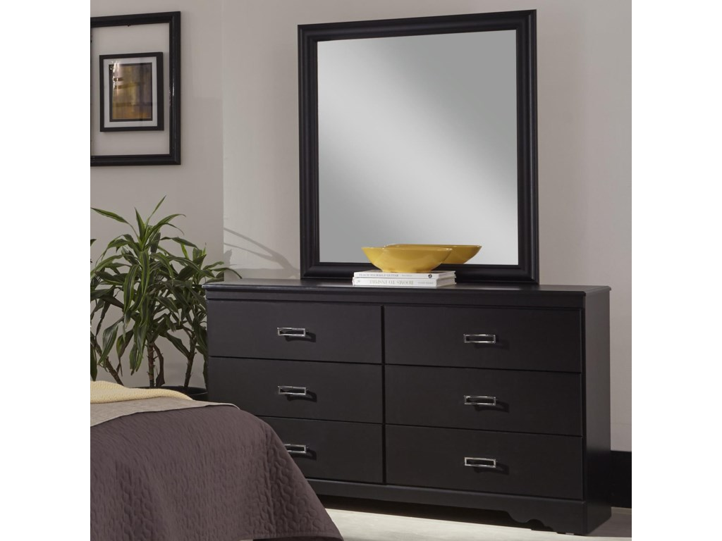 Kith Furniture SwagDresser with Six Drawers and Mirror