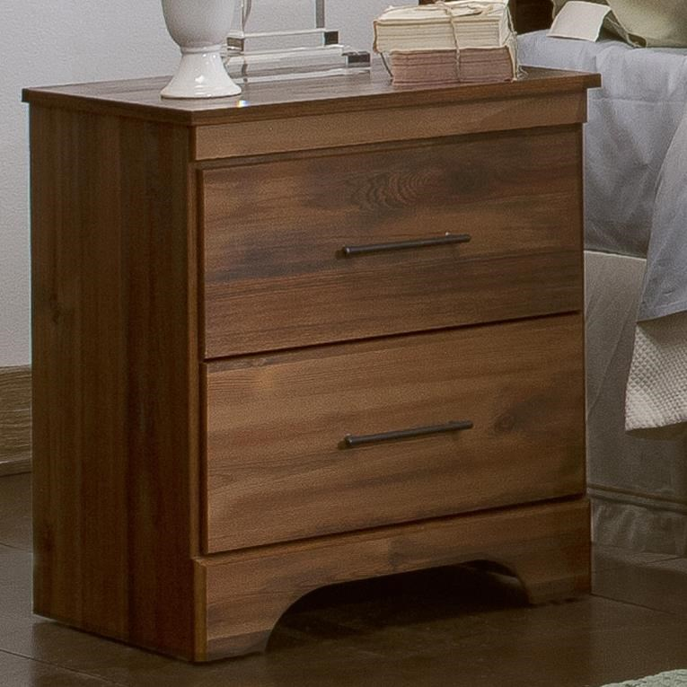 Kith Furniture Livingston Urban Casual Night Stand With Arched Base
