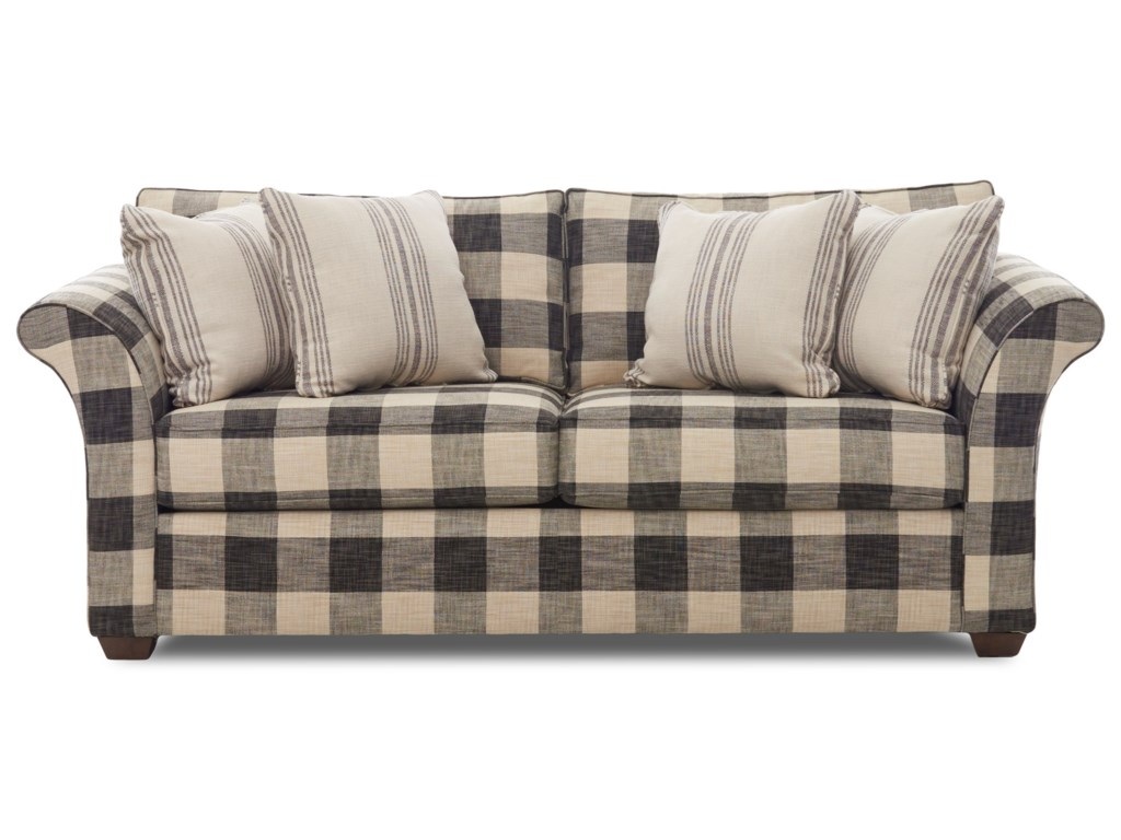 Elliston Place  JaxonRegular Enso MemFoam Sleeper Sofa