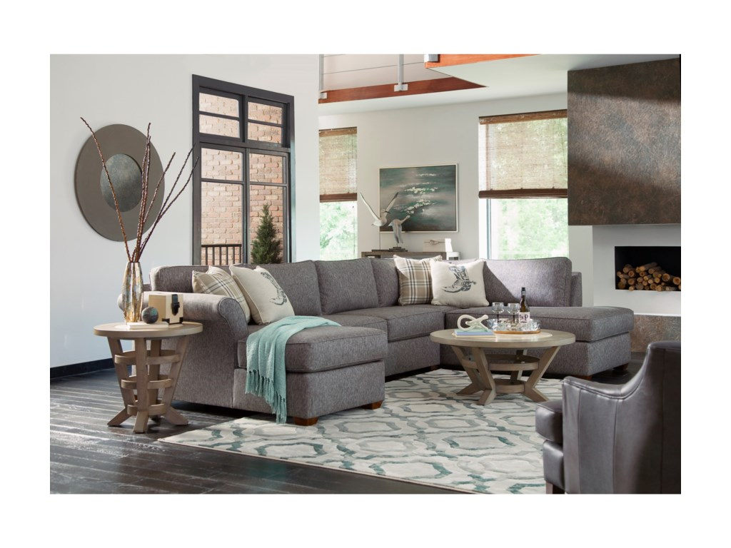Elliston Place Jaxon3 Pc Sectional Sofa