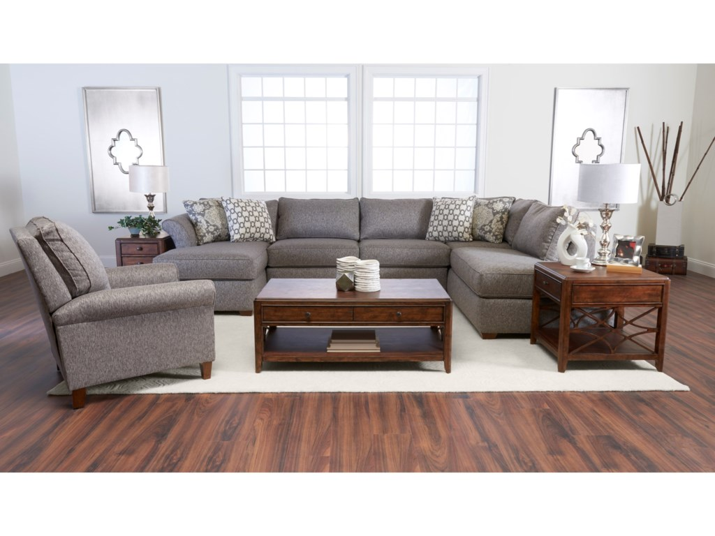 from brower klaussner danco modern by sofa sectional