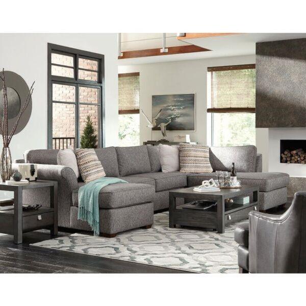 Klaussner  Jaxon3 Pc Sectional Sofa