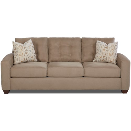 Klaussner Dylan Contemporary Sofa