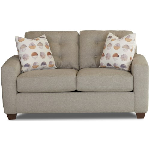Klaussner Dylan Contemporary Loveseat