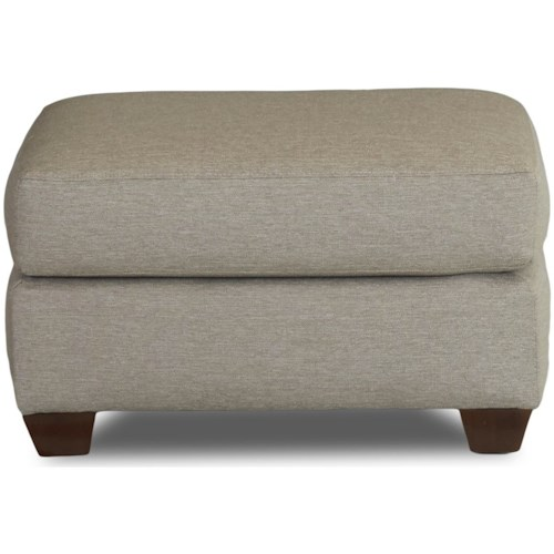Klaussner Dylan Contemporary Ottoman