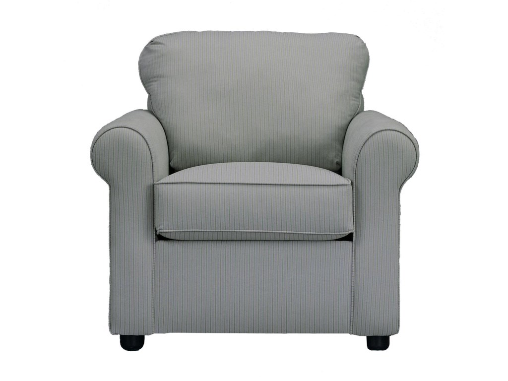 Klaussner BrightonChair and Ottoman