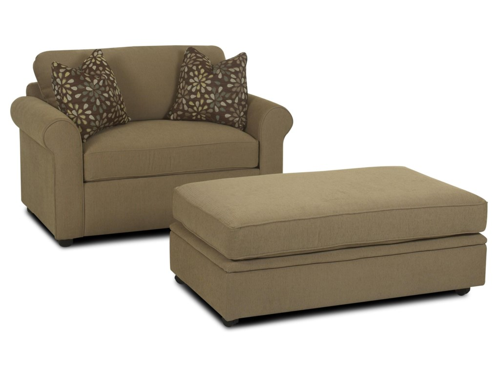 Elliston Place BrightonRoyal Chair Sleeper & Storage Ottoman