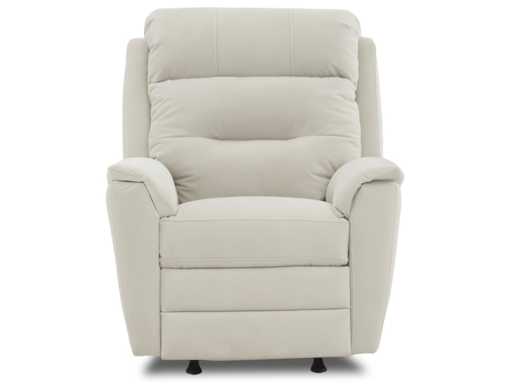 Klaussner NolaPower Rocking Recliner with Power Headrest