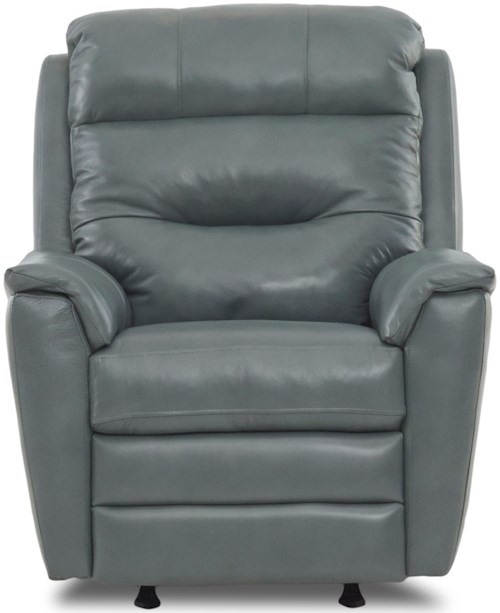 Klaussner Nola Casual Power Rocking Recliner with Power Headrest/Lumbar and USB Port