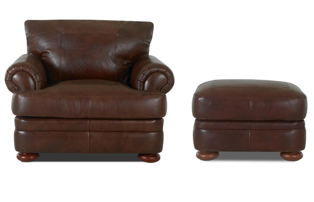 Eastlake Furniture Price Guide Part - 19: Klaussner Montezumachair And Ottoman ...