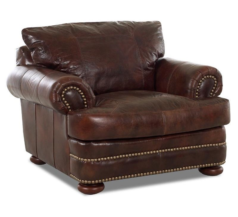 Elliston Place MontezumaLeather Chair