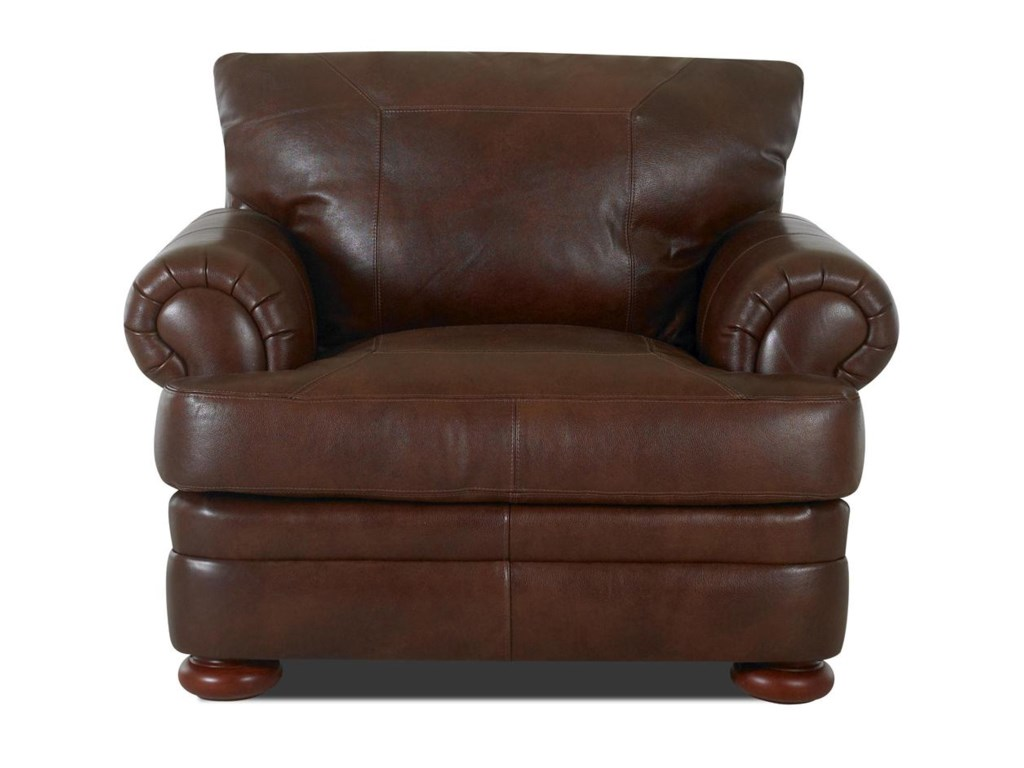 Klaussner MontezumaLeather Chair